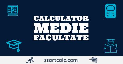 CALCULATOR MEDIE Facultate | Medie Ponderata Note Credite | STARTCALC