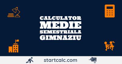 CALCULATOR Medie Gimnaziu | Medie Aritmetica Note | STARTCALC